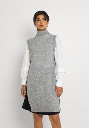 NUCHANEY - Svetr - light grey melange