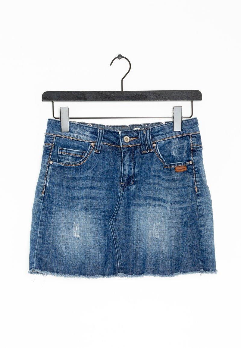 Gang - Spódnica jeansowa - blue