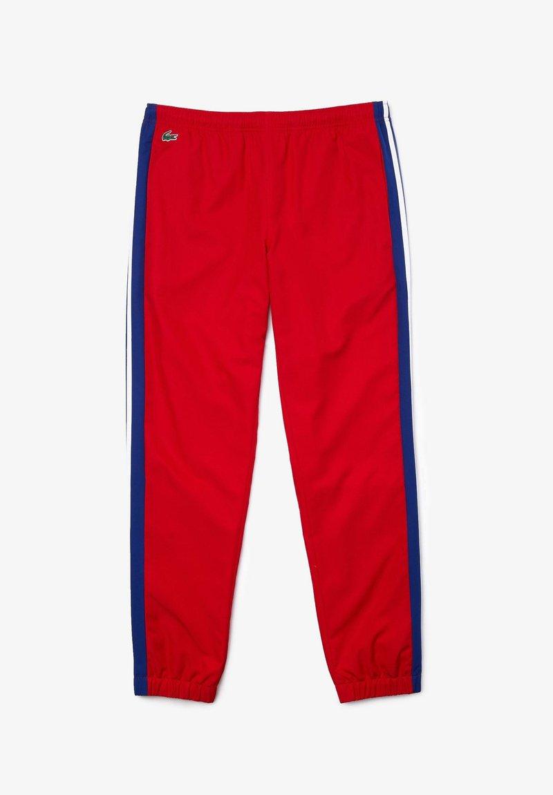Lacoste Sport - Pantalon de survêtement - rouge / bleu / blanc