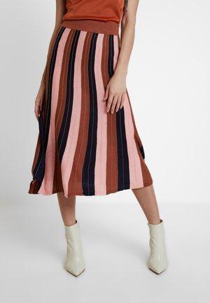 NINA SKIRT - Áčková sukně - multi