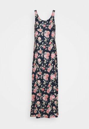 VISUN - Robe longue - navy blazer