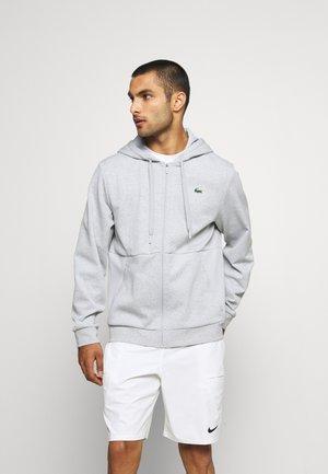 Veste de survêtement - silver chine/elephant grey