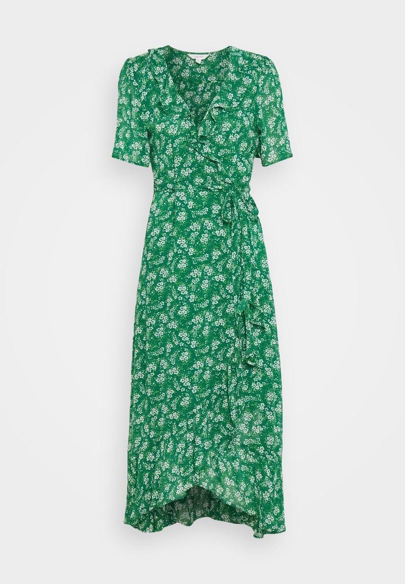 Marks & Spencer London - FLUTE WRAP - Maxi-jurk - green
