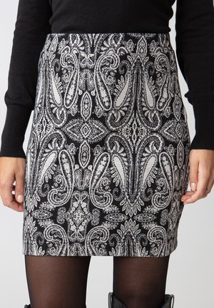 TRIXINA - Pencil skirt - black