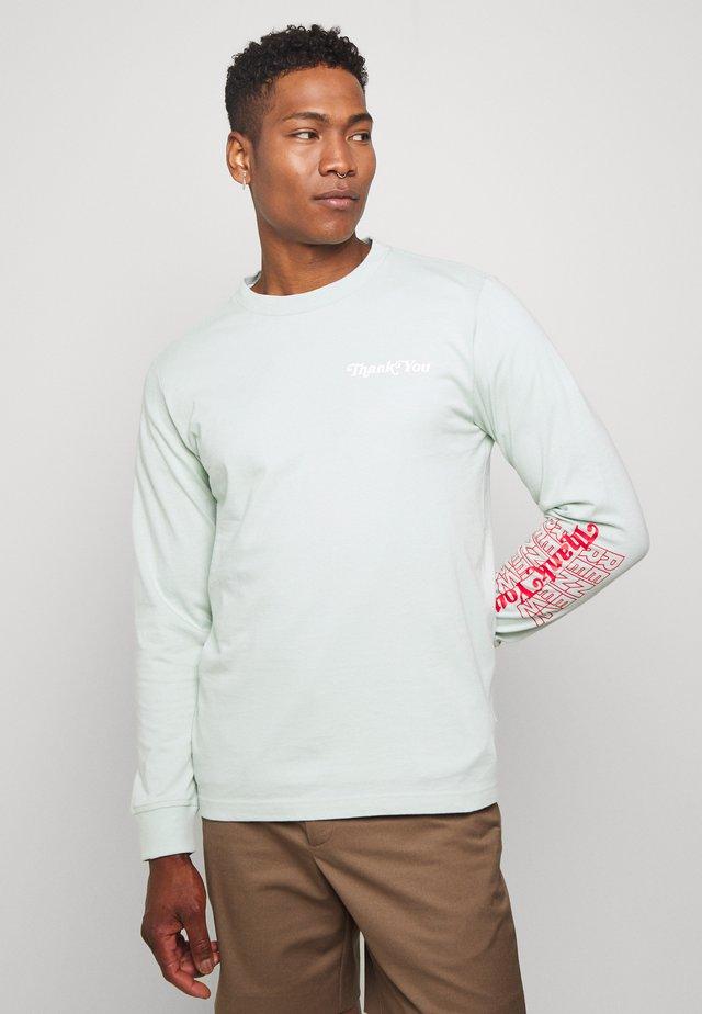 RENEW TEE - Long sleeved top - green oxide