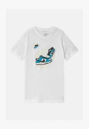 DUNK BUBBLE UNISEX - T-shirts med print - white