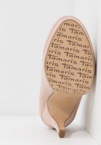 Tamaris - COURT SHOE - Escarpins à talons hauts - rose - 6