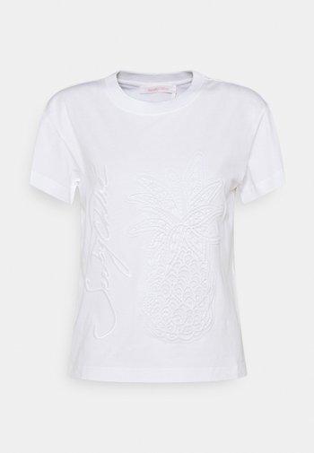 Basic T-shirt - white powder