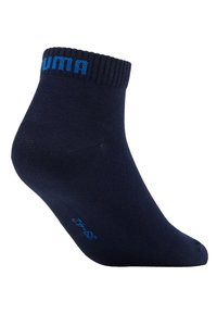 Puma - QUARTER 6 PACK - Sports socks - blue/grey melange - 3
