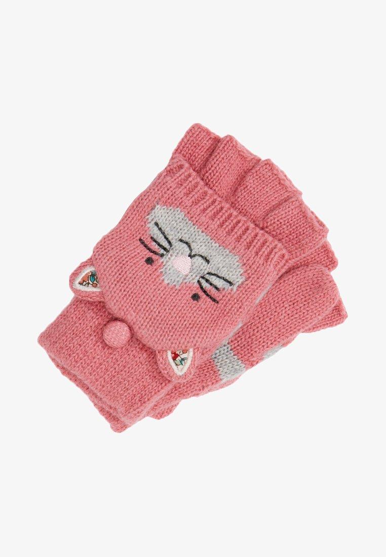 JoJo Maman Bébé - CAT GLOVES - Fäustling - pink