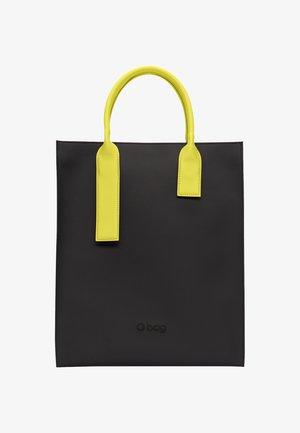 Tote bag - nero-giallo