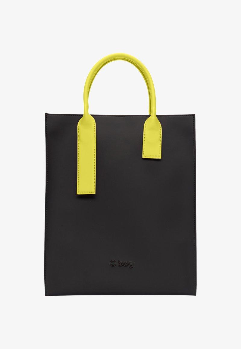 O Bag - Tote bag - nero-giallo