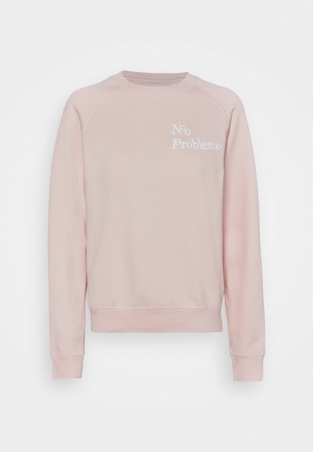 CLASSIC NO PROBLEMO - Sweatshirt - english pink