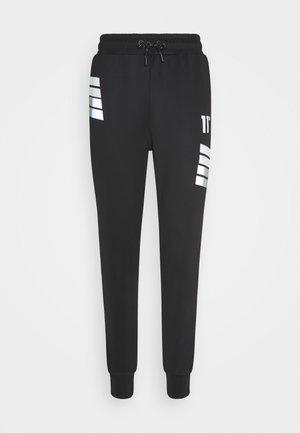 NANO REFLECTIVE STRIPE TRACK PANTS - Pantaloni sportivi - black