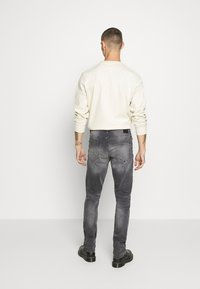 Only & Sons - ONSLOOM SLIM ZIP SWEAT GREY  - Slim fit jeans - grey denim