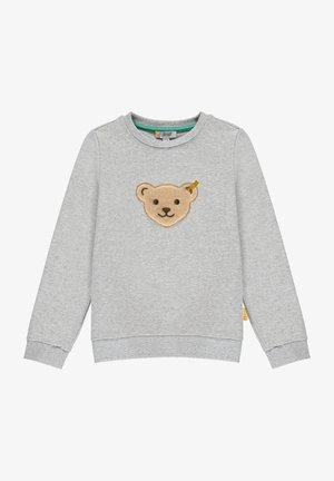 HIGH FIVE MIT QUIETSCHER - Sweatshirt - soft grey melange