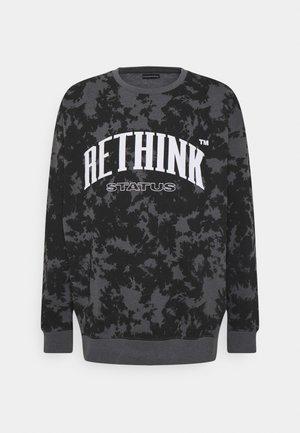CREWNECK UNISEX - Sweatshirt - black