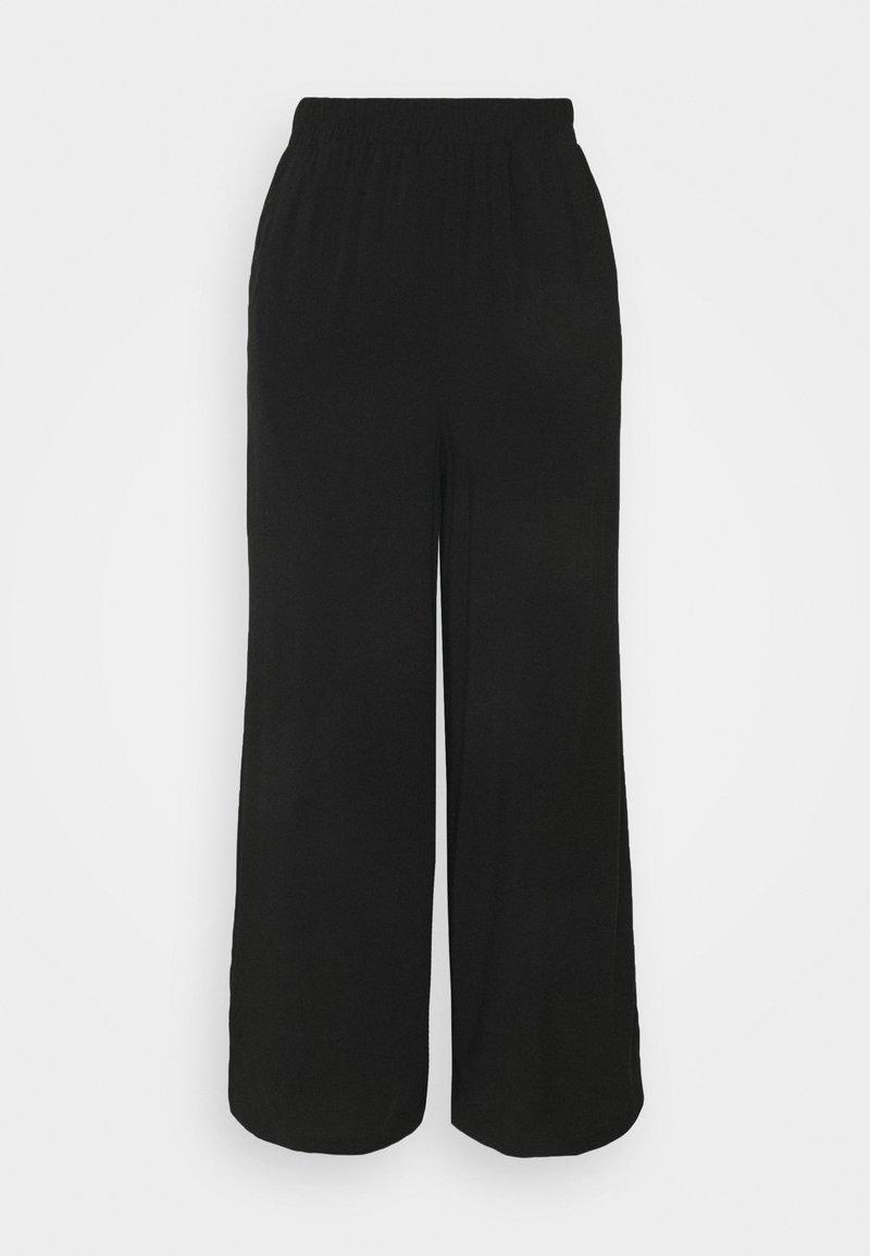 Noisy May Petite - NMFIONA PANTS - Trousers - black