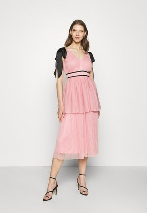 RIPLEY MIDI - Cocktail dress / Party dress - pink