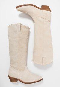 Bronx - RAIDDAN - Cowboy/Biker boots - sand - 3