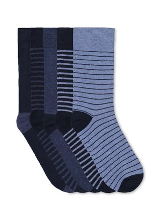 5 PACK - Calcetines - navy blue