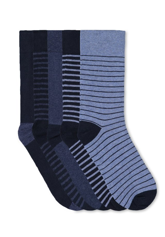 5 PACK - Socks - navy blue
