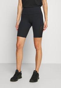 Hunkemöller - CYCLING SHORTS - Sports shorts - black - 0