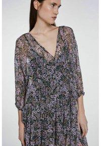 SET - Day dress - black violett - 4