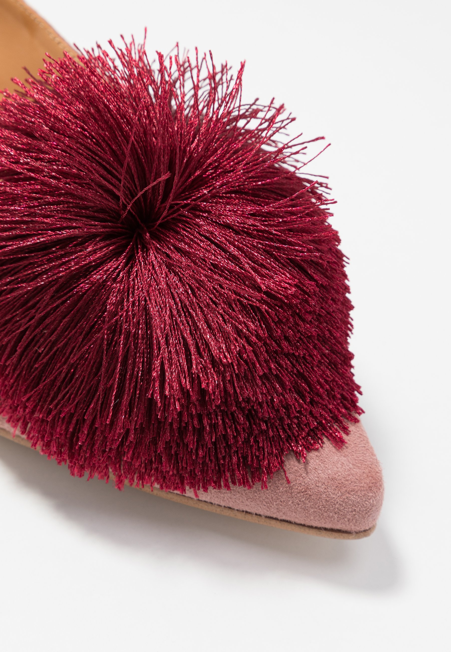 Chatelles CANDIDE POINTY - Slippers - vintage pink/bordeaux