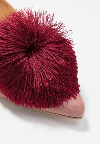 Chatelles - CANDIDE POINTY - Slip-ons - vintage pink/bordeaux - 2