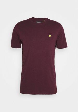 T-shirt - bas - burgundy