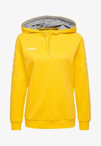 HMLGO  - Hoodie - yellow
