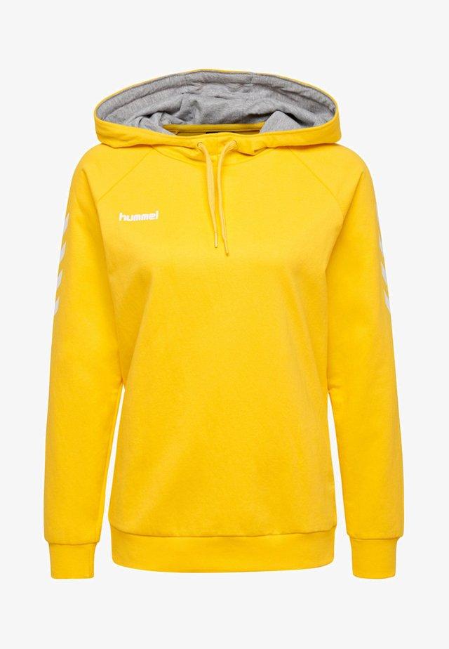 HMLGO  - Bluza z kapturem - yellow