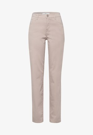 STYLE CAROLA - Straight leg jeans - toffee