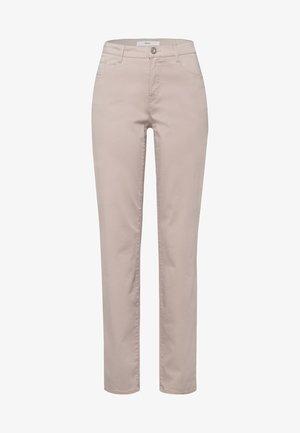 STYLE CAROLA - Jeans Straight Leg - toffee