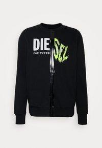 Diesel - BIAY SPLIT - Sweatshirt - black - 4