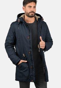 Solid - WINTERJACKE CLARKI TEDDY - Winter coat - insignia b - 2