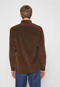 Polo Ralph Lauren - LONG SLEEVE SPORT - Vapaa-ajan kauluspaita - cooper brown - 3