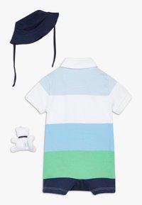 Polo Ralph Lauren - LIFESAVER APPAREL ACCESSORIES GIFT BOX SET - Baby gifts - beryl blue - 1