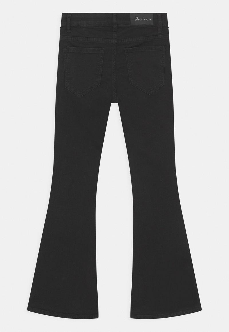 Lindex - MADDIE - Bootcut jeans - black