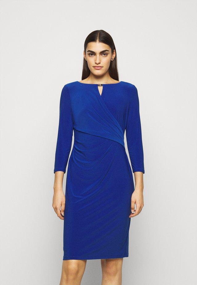 MID WEIGHT DRESS TRIM - Shift dress - summer sapphire