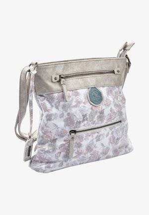 Handbag - white/blue