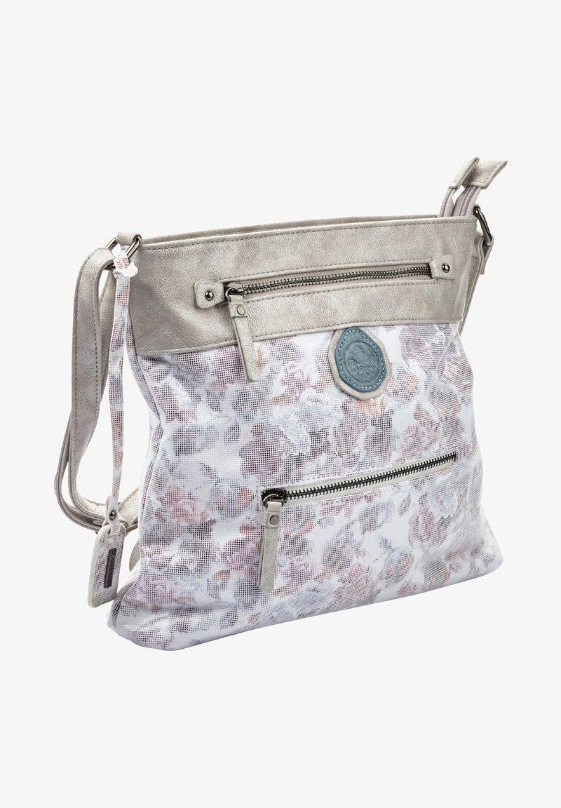 Rieker - Handbag - white/blue