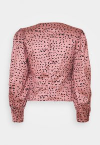 Glamorous - LONG SLEEVE PRINTED BLOUSE WITH NECK - Bluser - rose multi - 1