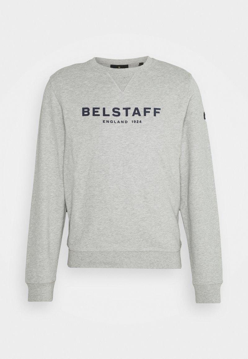 Belstaff - Felpa - grey melange/dark navy