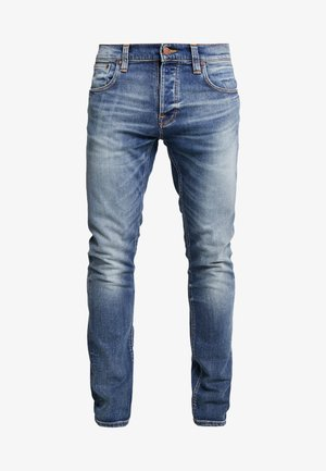 GRIM TIM - Slim fit -farkut - blue denim