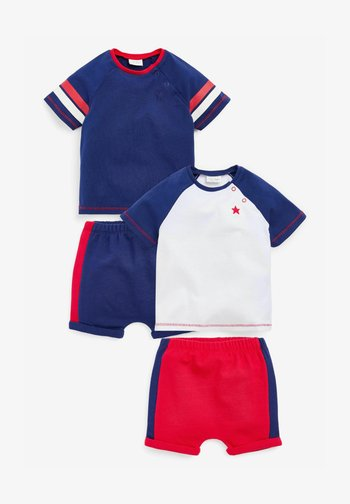 2 PACK - Shorts - blue/red