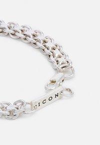Icon Brand - CLUSTER CHAIN BRACELET - Bracelet - silver-coloured - 1