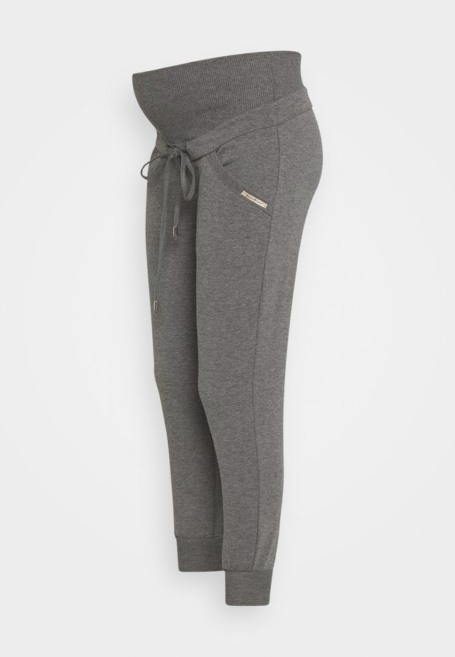 DAMLA - Tracksuit bottoms - metal