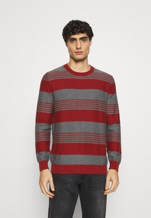 STRIPES - Jumper - red